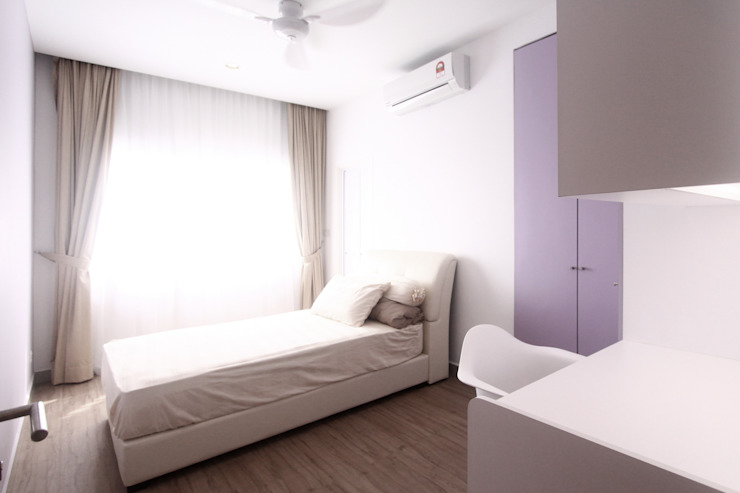 The Sanderson Home inDfinity Design (M) SDN BHD Modern style bedroom