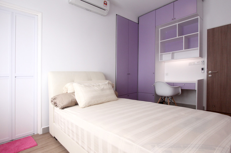 Modern Bedroom by inDfinity Design (M) SDN BHD Modern