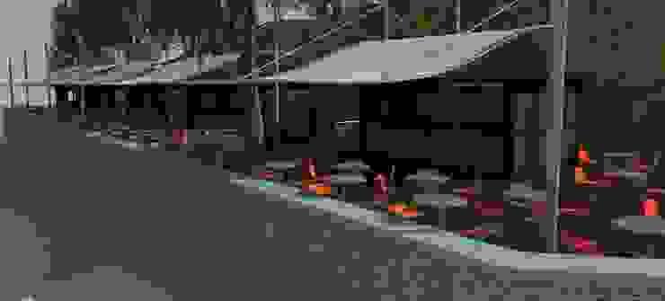 Cafe Bistro Comedores de estilo moderno de Atahualpa 3D Moderno