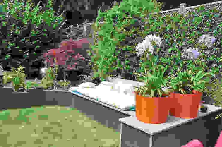 Jardin En Relief homify Jardin moderne Ardoise