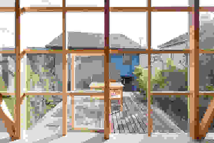 根據 山路哲生建築設計事務所 隨意取材風 木頭 Wood effect