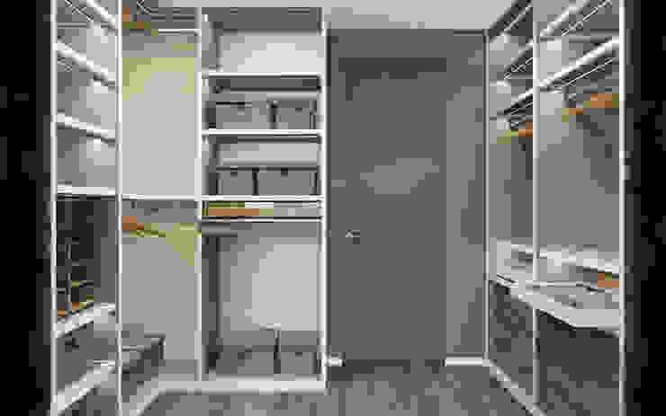 Modern Home Гардеробная в стиле лофт от Zikzak architects Лофт