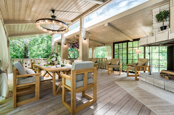 Tony House Interior Design & Decoration Patios & Decks