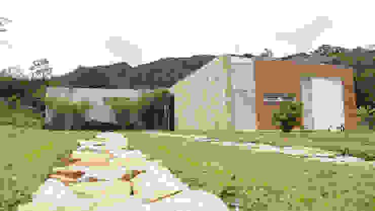 Modern home by COLECTIVO CREATIVO Modern Stone