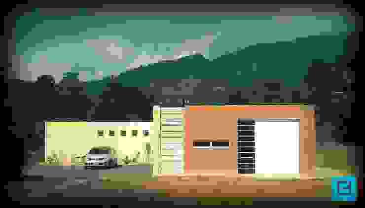 Casa Dapa AN Casas modernas de COLECTIVO CREATIVO Moderno Ladrillos