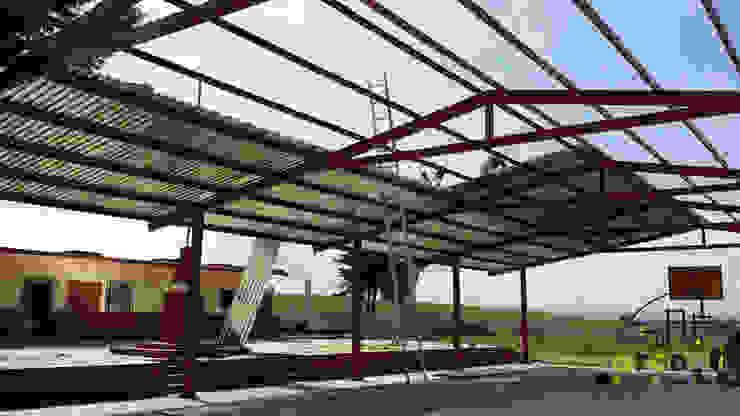 Techumbre Escuela Primaria Melchor Ocampo Escuelas de estilo rural de ARCO +I Rural