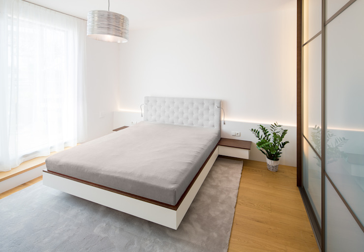 Kathameno Interior Design e.U. Modern style bedroom