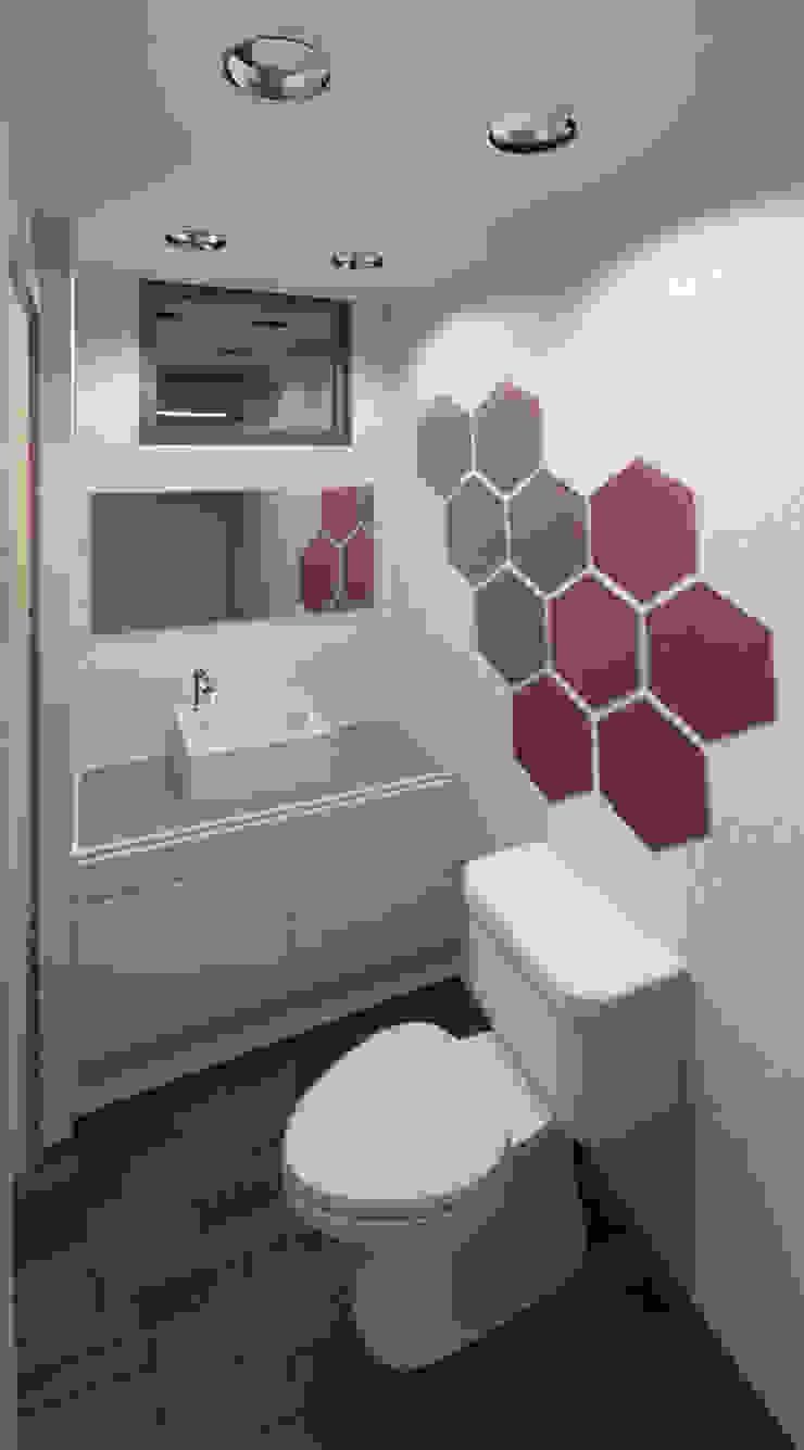 Modern bathroom by COLECTIVO CREATIVO Modern
