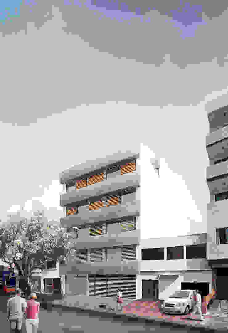 Modern terrace by COLECTIVO CREATIVO Modern