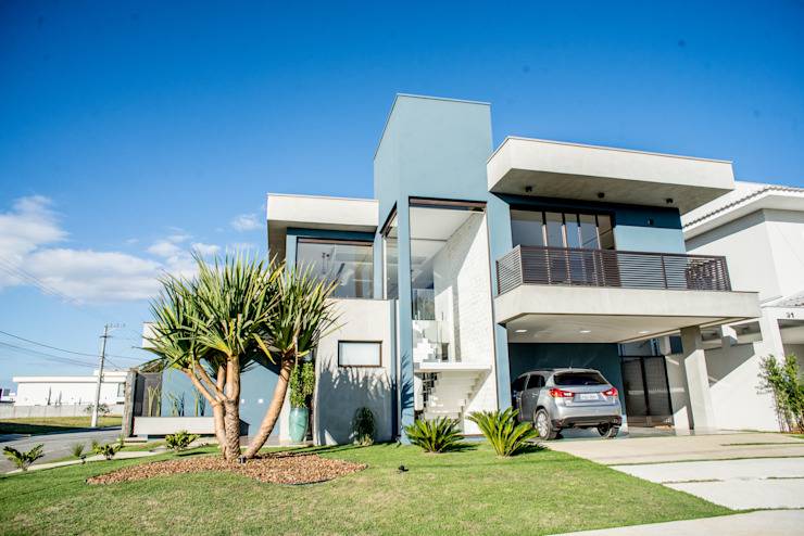 Camila Castilho - Arquitetura e Interiores Rumah Modern