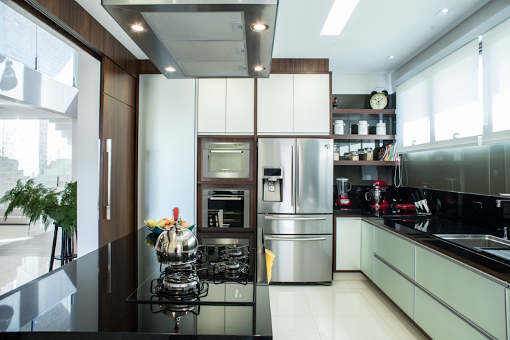 Camila Castilho - Arquitetura e Interiores Dapur Modern