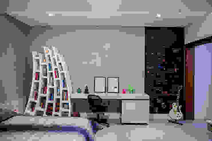 Camila Castilho - Arquitetura e Interiores Kamar Tidur Modern