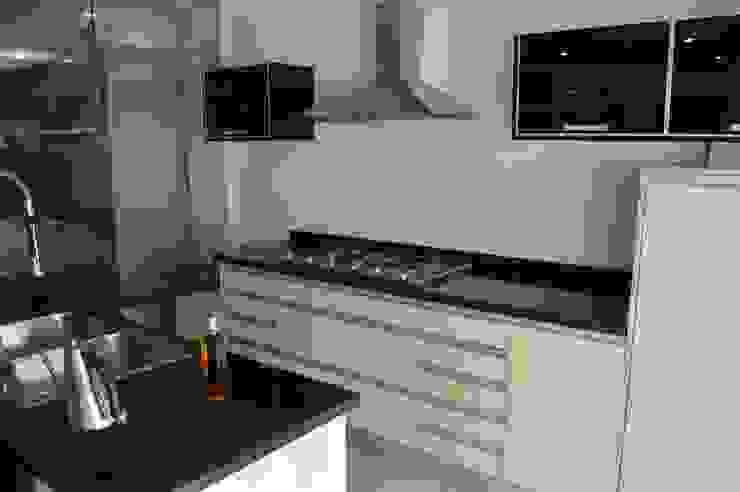 Cocina modular (OULIN) de Decoglass Center Moderno