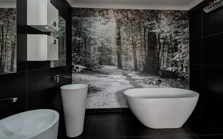 Bathroom by homify, Country