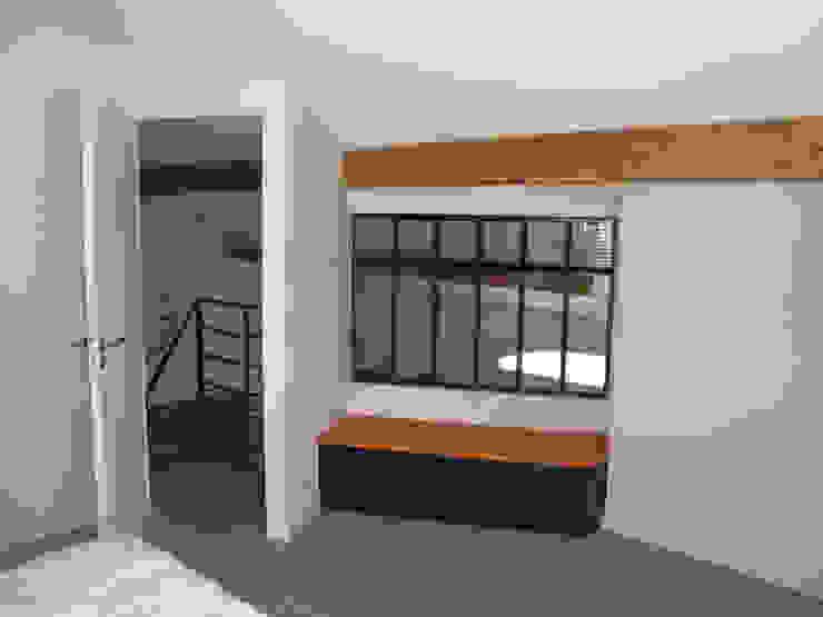 Chambre en mezzanine - après travaux Chambre moderne par Kauri Architecture Moderne