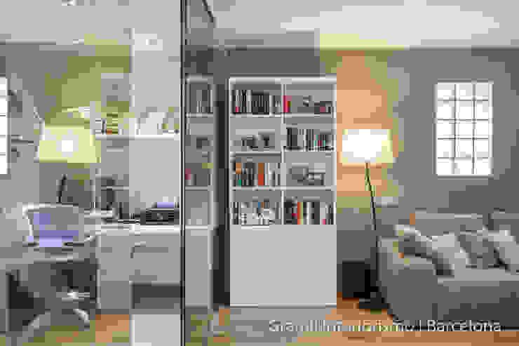 Vivienda en Cesalpina Estudios y despachos de estilo moderno de Gramil Interiorismo II - Decoradores y diseñadores de interiores Moderno