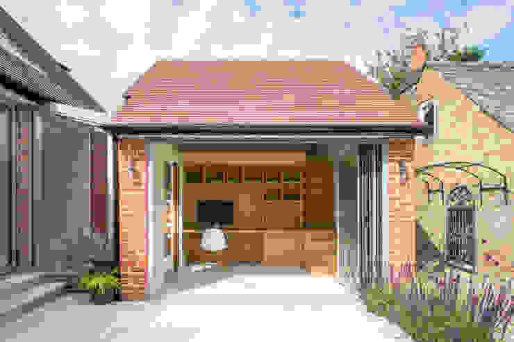 Hare Lane Minimalistische Arbeitszimmer von Frost Architects Ltd Minimalistisch