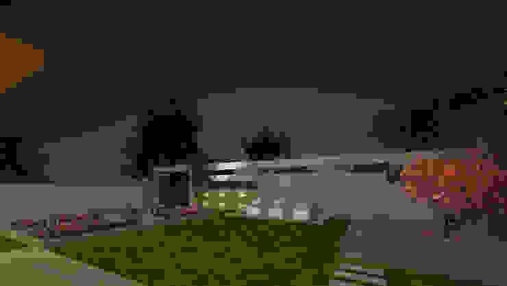 Moderne tuinen van De Panache - Interior Architects Modern Steen