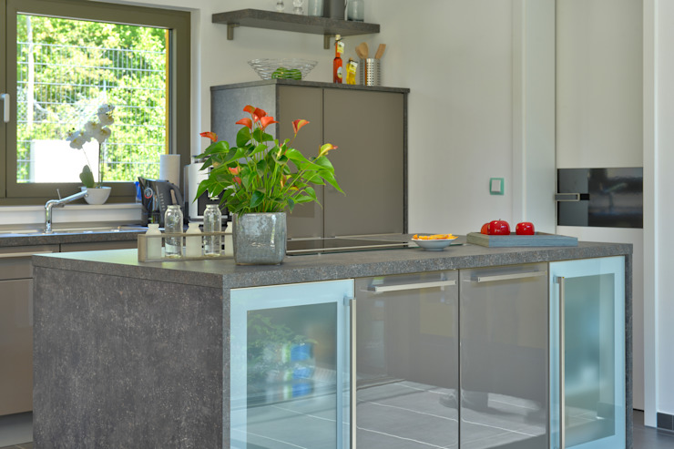 Cuisine de style  par Büdenbender Hausbau GmbH, Moderne