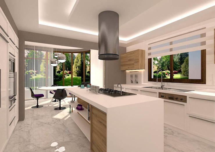 vanetta mutfak Çankaya Modern Kitchen