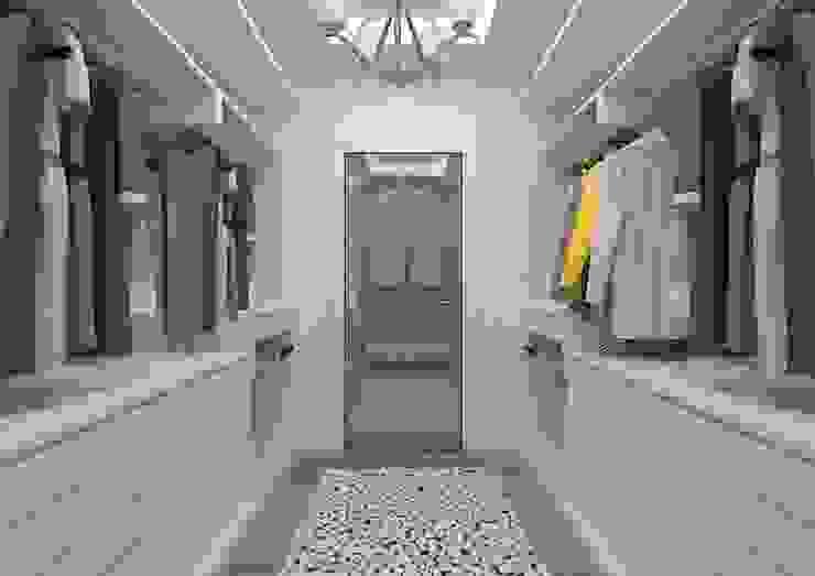 İLKO SİTESİ- ÖRNEK VİLLA Modern Giyinme Odası ESA PARK İÇ MİMARLIK Modern
