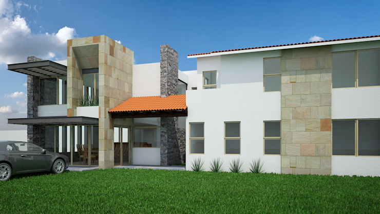 Modern houses by Jeost Arquitectura Modern