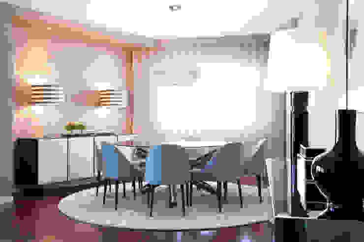 DECORAÇÃO APARTAMENTO PAREDE Salas de jantar modernas por fernando piçarra fotografia Moderno
