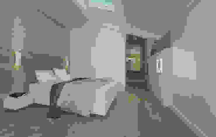 Camera da letto | Bedroom DomECO Camera da letto moderna Legno Bianco