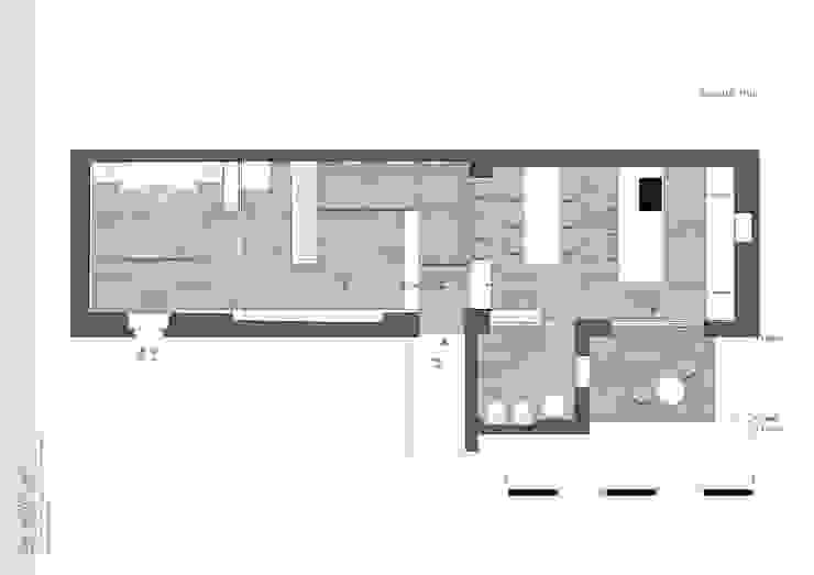 Planimetria   Floorplan di DomECO Moderno
