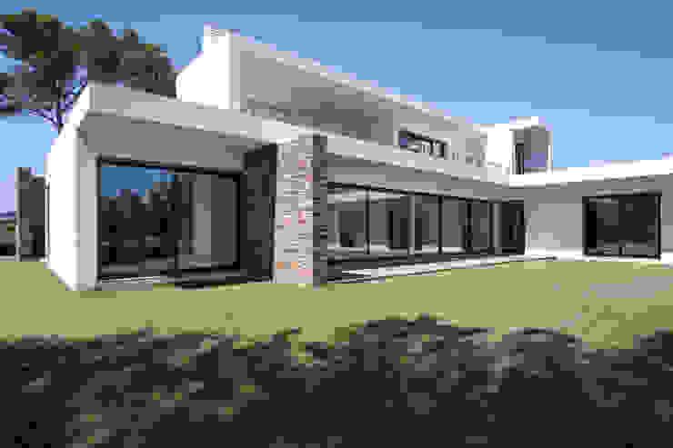 Дома в стиле модерн от fernando piçarra fotografia Модерн