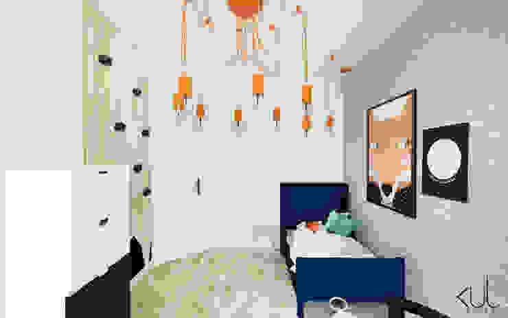 Dormitorios infantiles escandinavos de Kul design Escandinavo