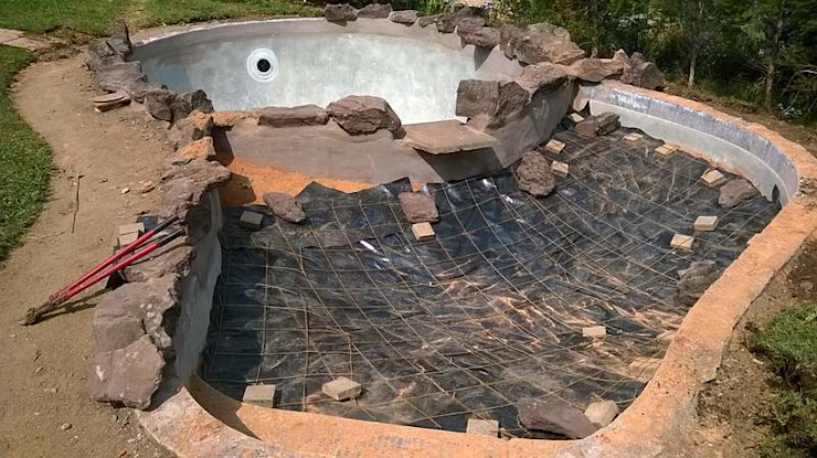 POOL TO POND CONVERSION by Paul's Plantscapes