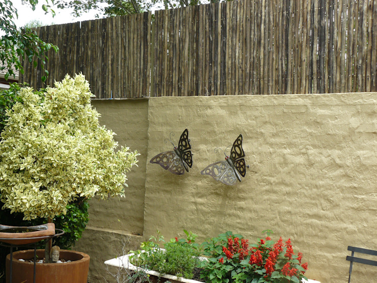"""LATTE"" SCREEN Rustic style houses by Oxford Trellis Rustic"