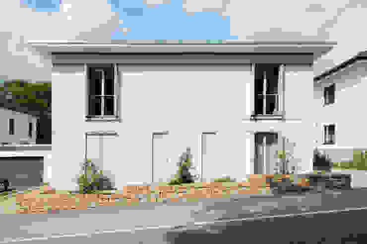 Blick Frontal ARCHITEKTEN BRÜNING REIN Moderne Häuser
