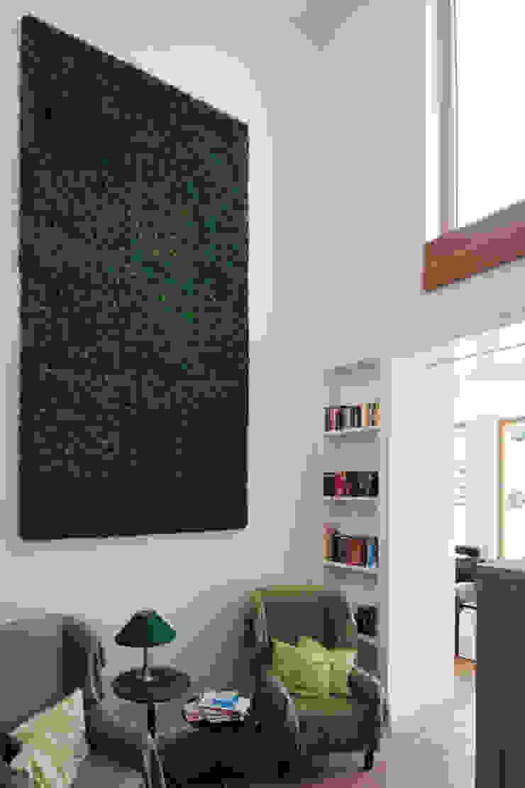 Kaminsitz ARCHITEKTEN BRÜNING REIN Moderne Wohnzimmer