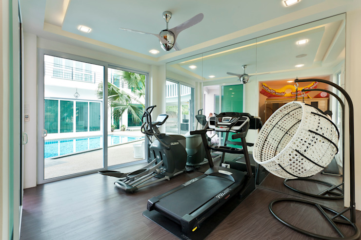 Contemporarily Dashing | BUNGALOW Design Spirits Modern gym