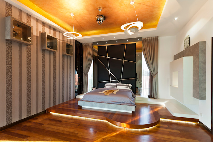Contemporarily Dashing | BUNGALOW Design Spirits Modern style bedroom