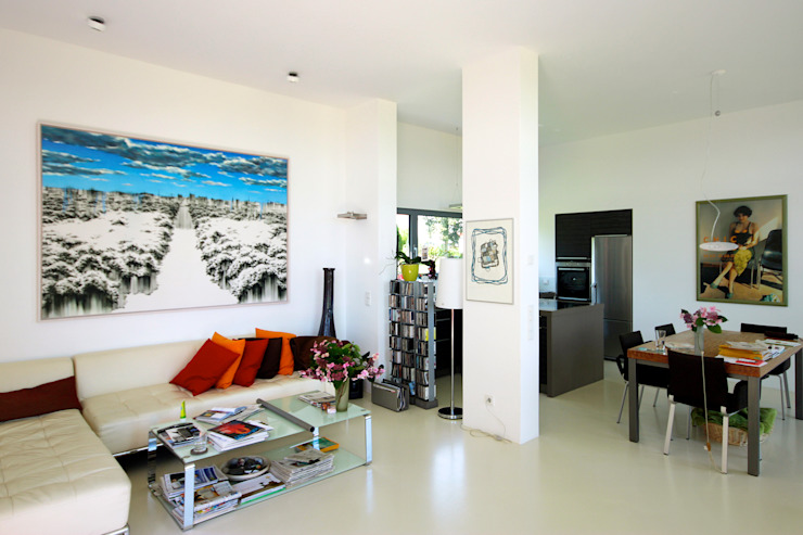ARCHITEKTEN BRÜNING REIN Modern living room