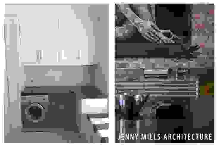 Kitchen before and after Modern kitchen by Jenny Mills Architects Modern Bricks