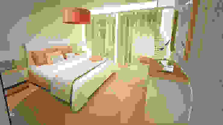 Dormitorios de estilo  por GRAÇA Decoração de Interiores,