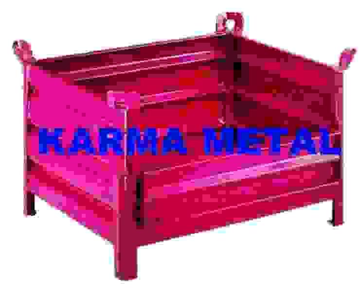 KARMA METAL -Çelik Sac Taşıma Kasaları Kasası Sandık Palet Endüstriyel Bahçe KARMA METAL Endüstriyel