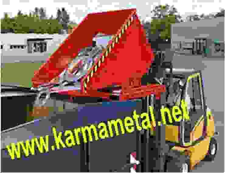 KARMA METAL -Forklift Devirme Tertibatlı Konteyner KARMA METAL Endüstriyel