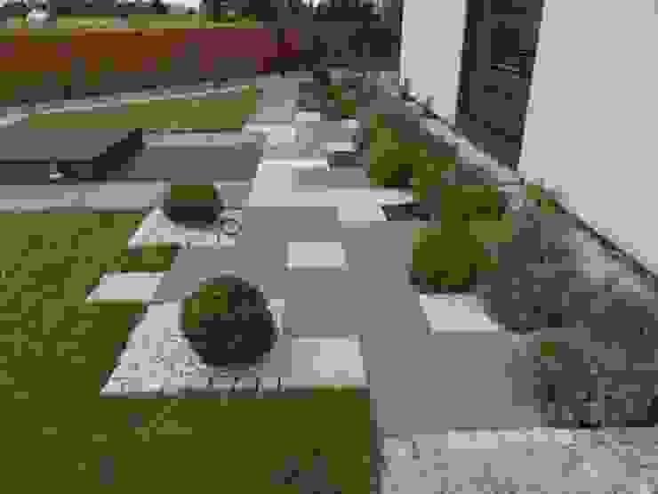 Przykładowe realizacje Nowoczesny ogród od Empart Ogrody Nowoczesny