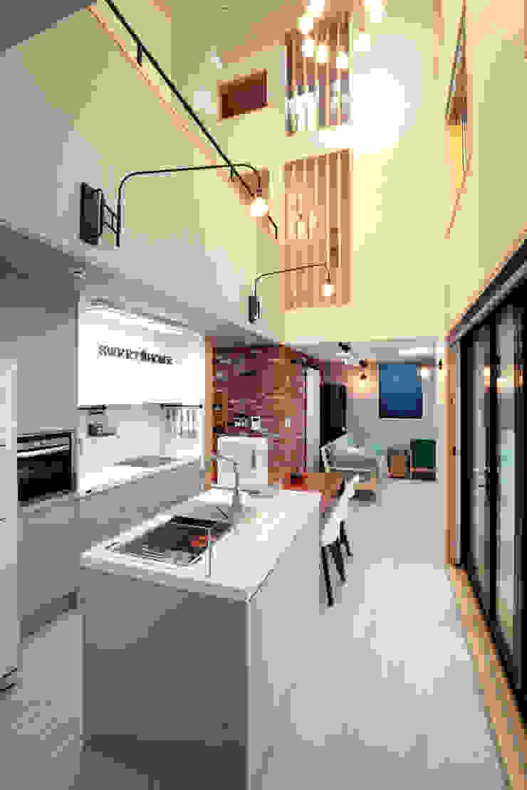 주택설계전문 디자인그룹 홈스타일토토 Modern kitchen