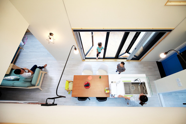Cocinas de estilo moderno de 주택설계전문 디자인그룹 홈스타일토토 Moderno