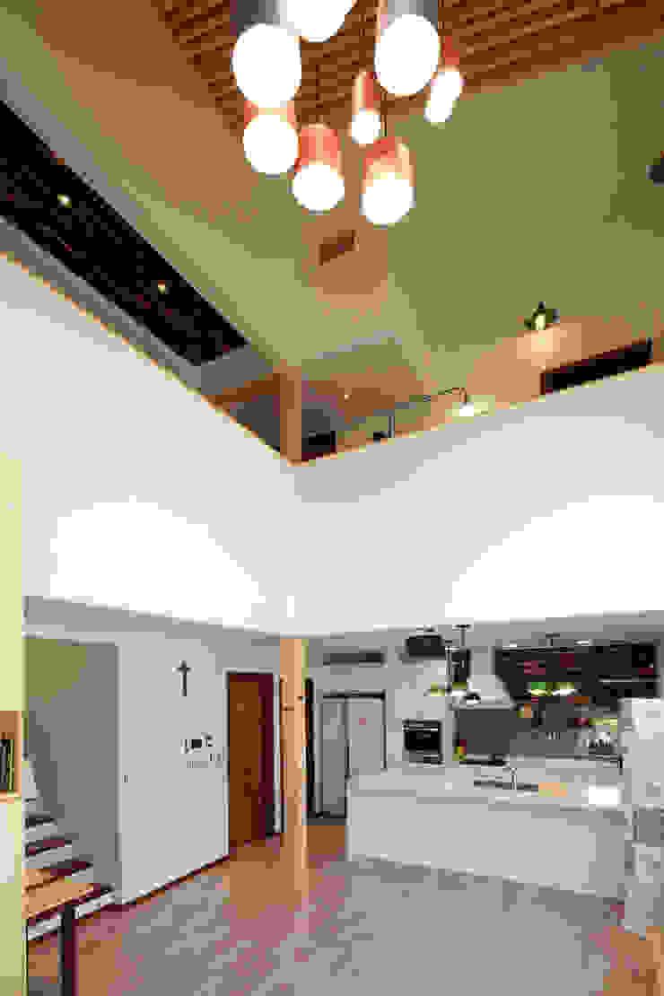 오픈거실 모던스타일 거실 by 주택설계전문 디자인그룹 홈스타일토토 모던