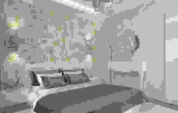 LBC İNŞAAT- AYDINLIKEVLER ÖRNEK DAİRE Modern Yatak Odası ESA PARK İÇ MİMARLIK Modern