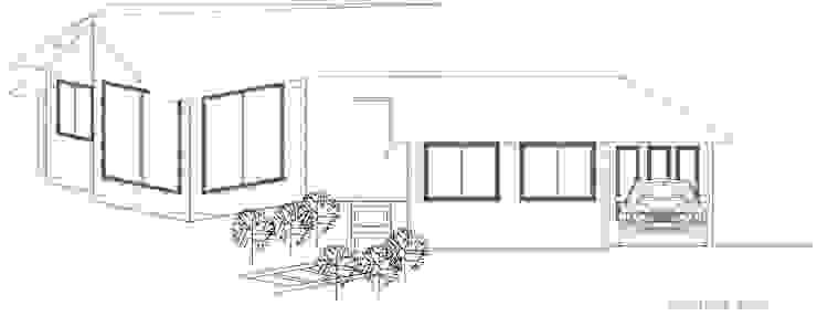 Loft estudio C.A. Country style house
