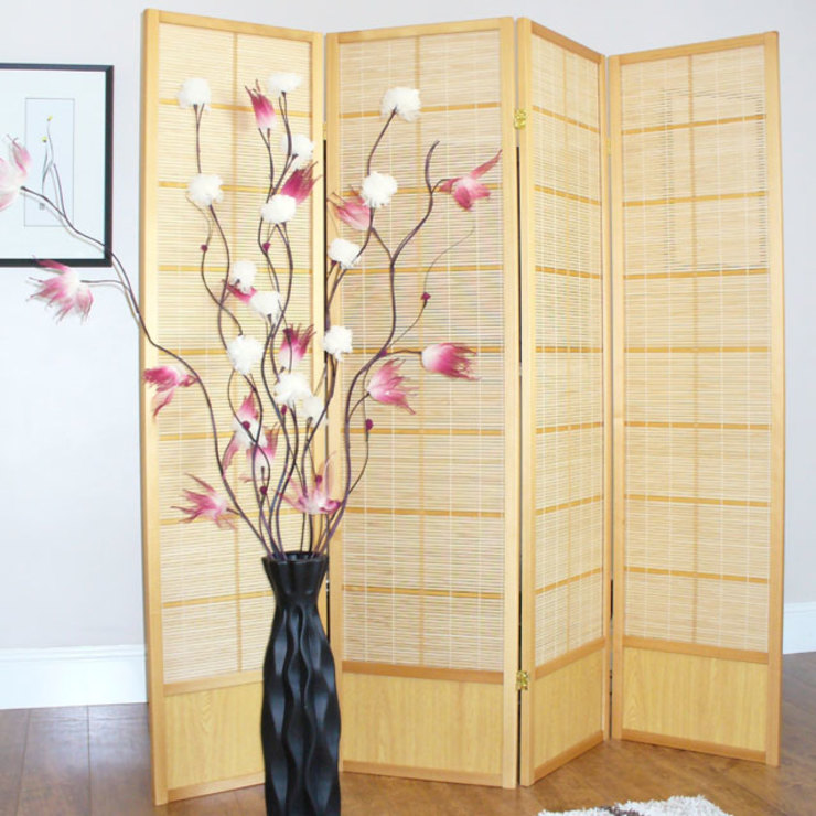 Shoji Screen Room Divider od Asia Dragon Furniture from London Azjatycki