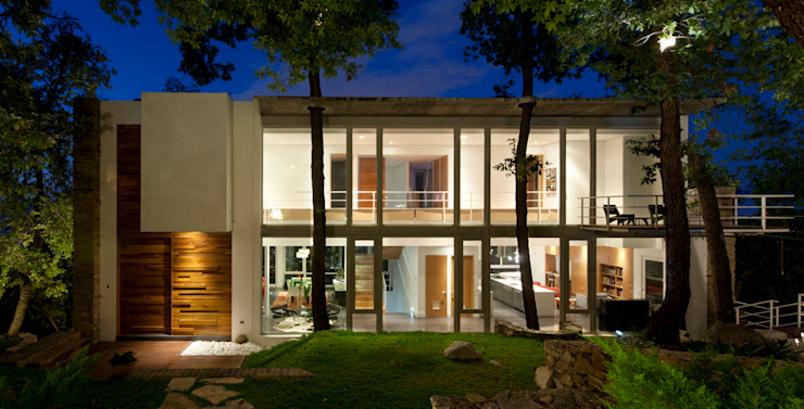 Casa Olinala - Local 10 Arquitectura Casas modernas de Local 10 Arquitectura Moderno Concreto